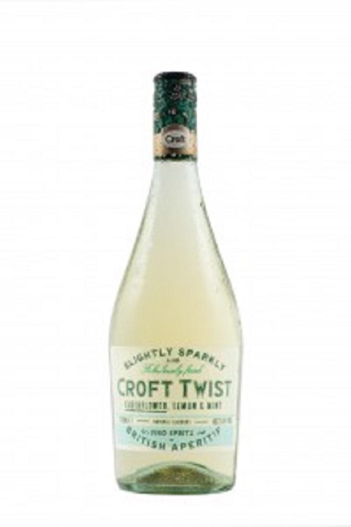 Croft Twist Elderflower Lemon & Mint